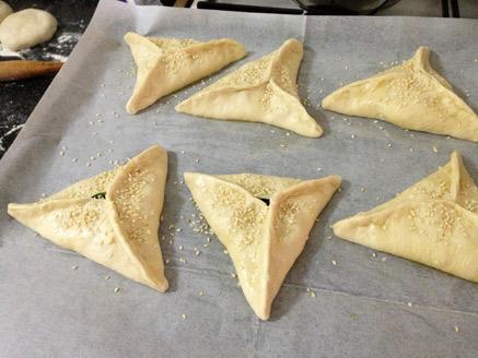 פטייר - מאפה תרד מהמטבח הערבי