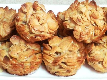 עוגיות שקדים פרוסים