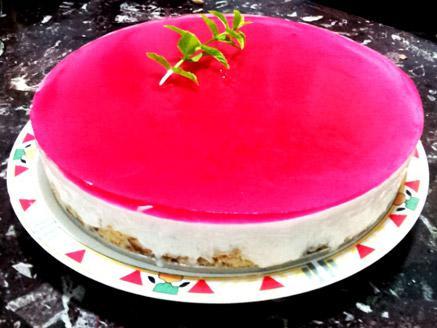 עוגת גבינה קרה כשרה לפסח ללא אפייה