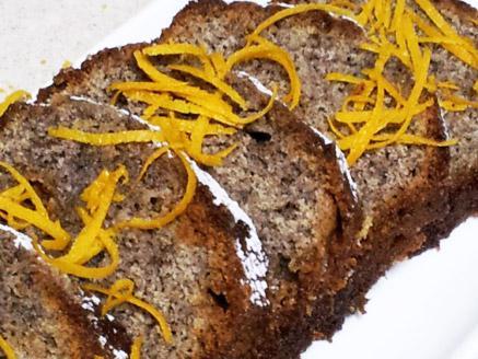 עוגת פרג תפוזית