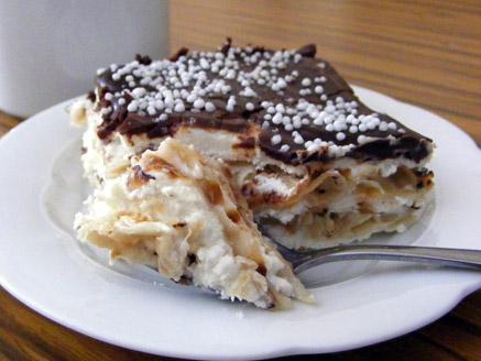 עוגת מצות וגבינה