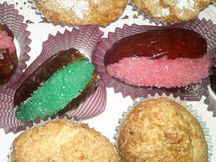 עוגיות מרציפן למימונה