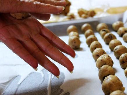 עוגיות חמאת בוטנים ללא גלוטן וסוכר