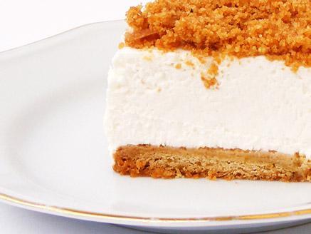 עוגת גבינה פירורים לשבועות