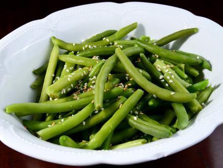 שעועית ירוקה בגוון אסיאתי