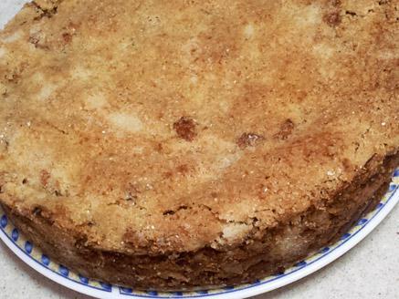 עוגת תפוחים ללא ביצים