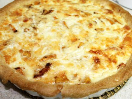 קיש גבינות ובטטה קל להכנה