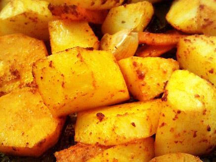 תפוחי אדמה בפפריקה