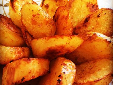 תפוחי אדמה בתנור קריספי