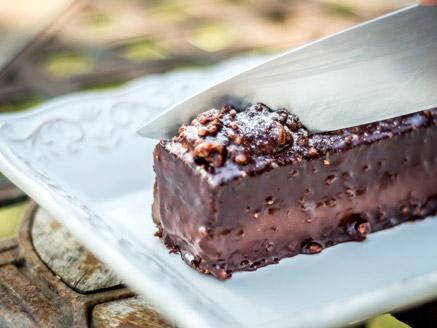 עוגת שוקולד לוטוס