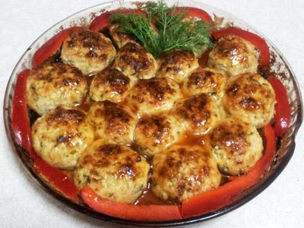 כדורי חזה עוף בתנור