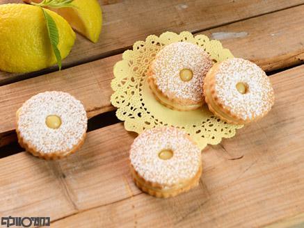 עוגיות לימון מיוחדות עם קארד לימון