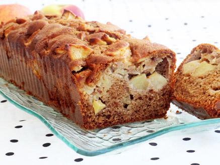 עוגת דבש ותפוחים