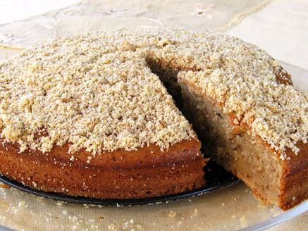 עוגה עם רסק תפוחים
