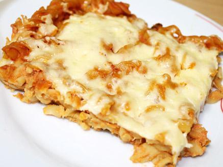 פשטידת פסטה בטעם פיצה