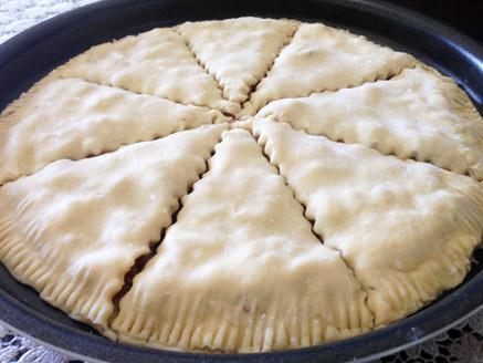 עוגיות אגוזים, צימוקים ודבש