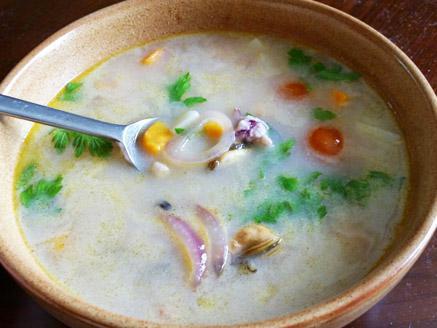 מרק פירות ים תאילנדי מעודן