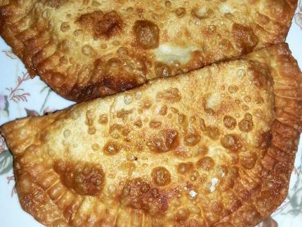 צ`יבורקי במילוי גבינה בולגרית ופטריות