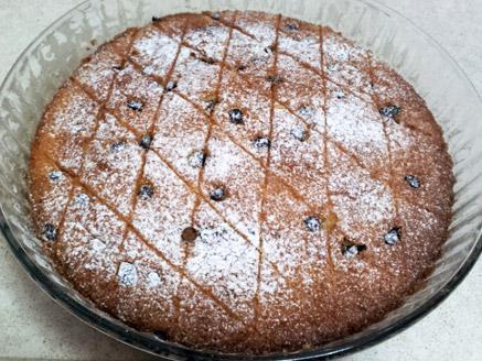 עוגת תפוזים ושוקולד צ`יפס