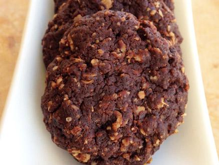 עוגיות שוקולד וקוואקר