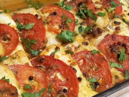 דג מרלוזה בתנור