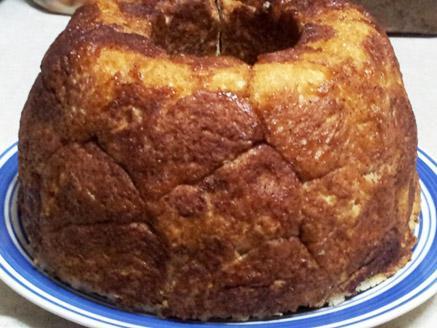 עוגת שמרים קינמון (לחם קופים)