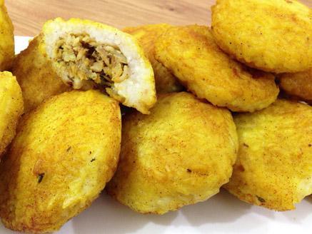 קובה אורז במילוי דג