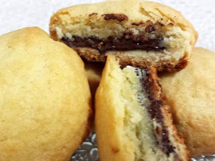 עוגיות ריבה מבצק פריך