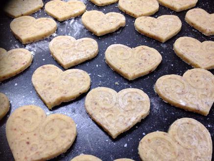 עוגיות שקדים לתה