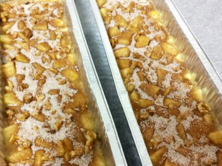 עוגת תפוחים בחושה קלה