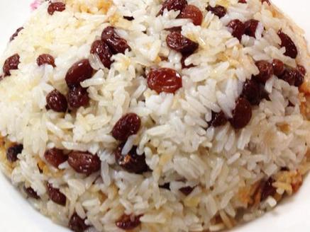 אורז מתוק עם צימוקים