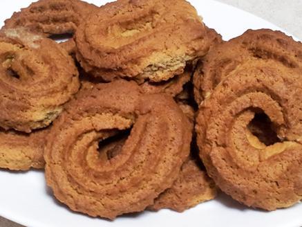 עוגיות מכונה בטעם קפה