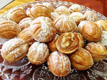 עוגיות אגוז כשרות לפסח
