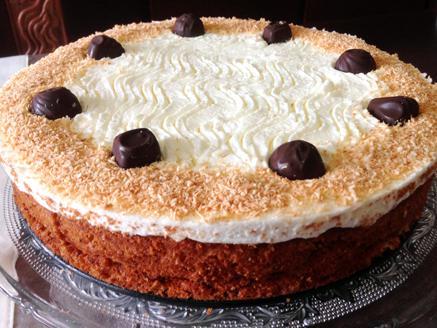 עוגת תפוזים, קוקוס ושוקולד לפסח