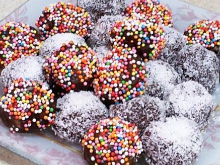 כדורי שוקולד פרווה לפסח