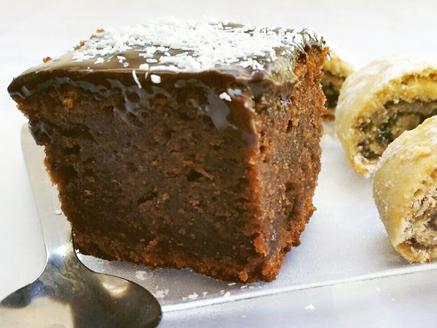 עוגת שוקולד דחוסה
