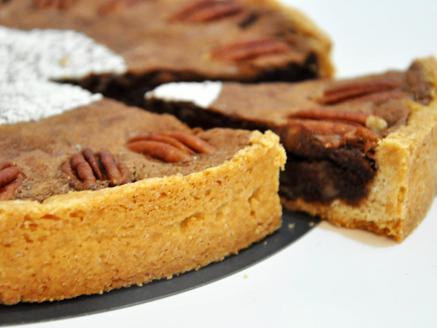 טארט שוקולד פקאן