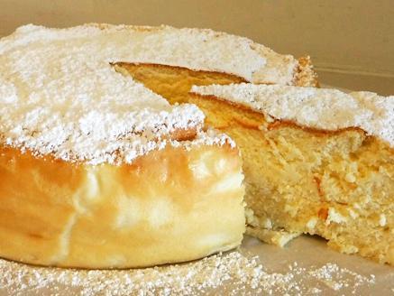 עוגת גבינה אפויה בסיר ג`חנון