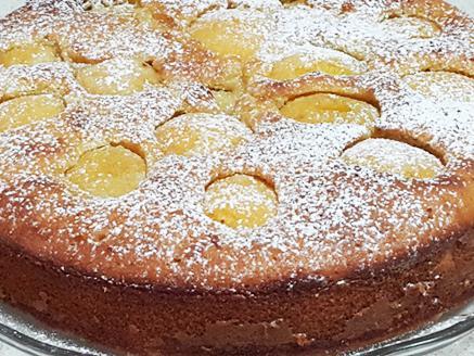 עוגת משמש בחושה