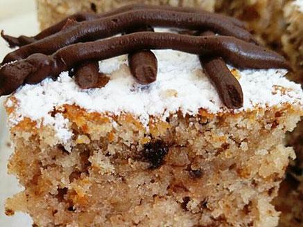 עוגת קוקוס ואגוזים פרווה