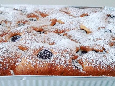 עוגת תפוזים ושוקולד צ`יפס מריר