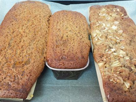 עוגת דבש עם נס קפה ותבלינים