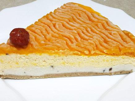 עוגת מוס מנגו