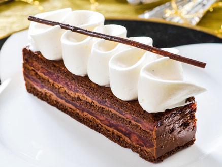 קינוח שוקולד ודובדבנים מושלם