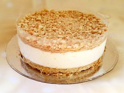 עוגת גבינה פירורים טעימה
