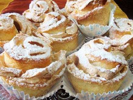 עוגיות שושנים וניל