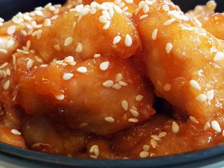 נתחוני עוף מתוק בדבש וצ`ילי