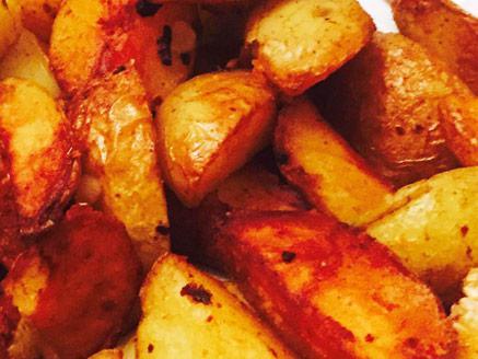 תפוחי אדמה במחבת