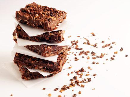 חיתוכיות גרנולה-חמאת בוטנים-שוקולד