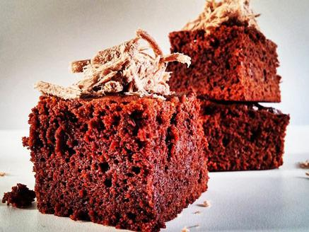 עוגת בראוניז חלבה